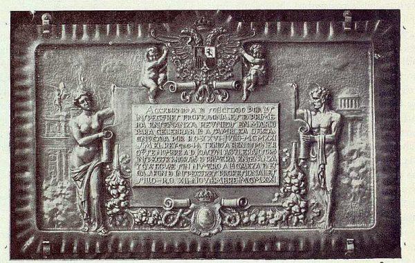 111_TRA-1922-186 - Placa homenaje a Joaquín Aguilera Osorio - Foto Rodríguez