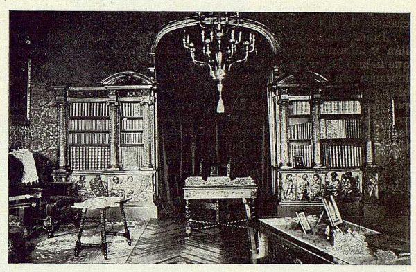 112_TRA-1922-184-Palacio del Castañar, biblioteca