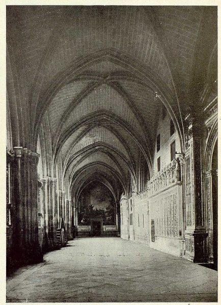 115_TRA-1925-226-Catedral, claustro bajo-Foto Rodríguez