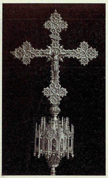 119_TRA-1926-238 - Congreso Eucarístico Nacional, exposición, cruz de plata, Sonseca