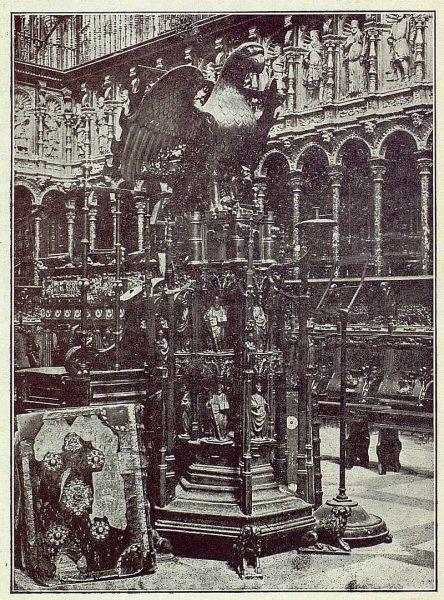 120_TRA-1922-179-Catedral, Coro-Foto Clavería