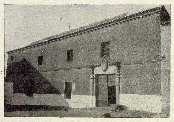 121_TRA-1929-271-Carretera de Ciudad Real a su paso por Nambroca