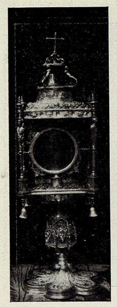 123_TRA-1926-238 - Congreso Eucarístico Nacional, exposición, custodia de plata sobredorada, Mascaraque