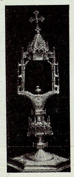 125_TRA-1926-238 - Congreso Eucarístico Nacional, exposición, custodia gótica, Méntrida