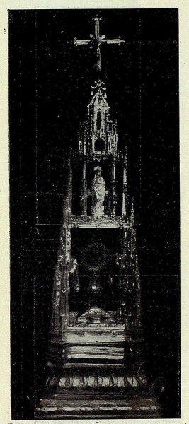 126_TRA-1926-238 - Congreso Eucarístico Nacional, exposición, custodia procesional de plata, Ocaña