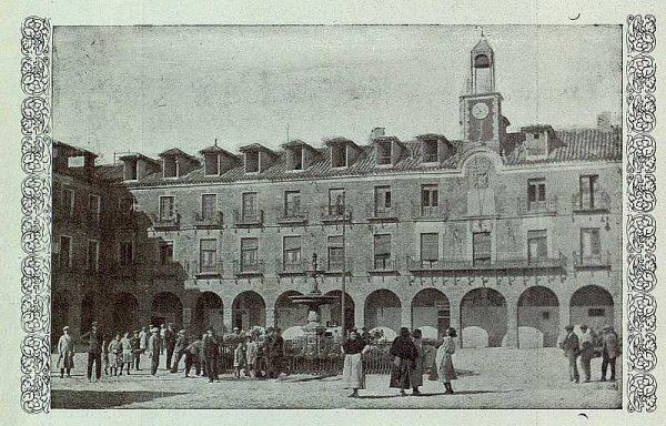 127_TRA-1925-225-Ocaña, Plaza Mayor-Foto Rodríguez