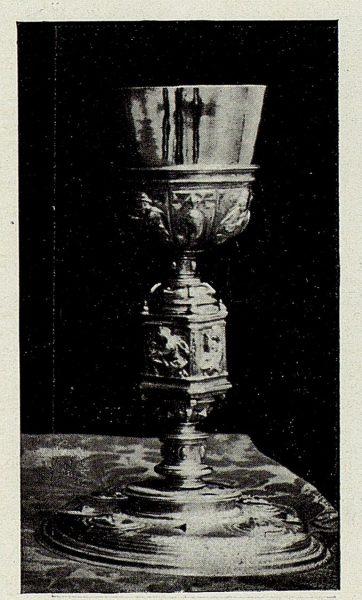 128_TRA-1926-238 - Congreso Eucarístico Nacional, exposición, cáliz de plata, Toledo