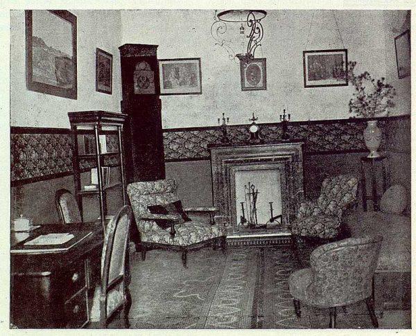 140_TRA-1923-191-La casona de San Martín de Pusa, recibidor
