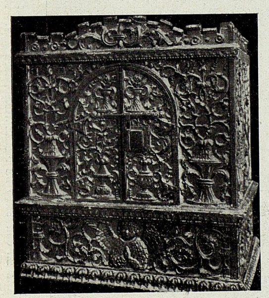 140_TRA-1926-238 - Congreso Eucarístico Nacional, exposición, urna de monumento de Semana Santa