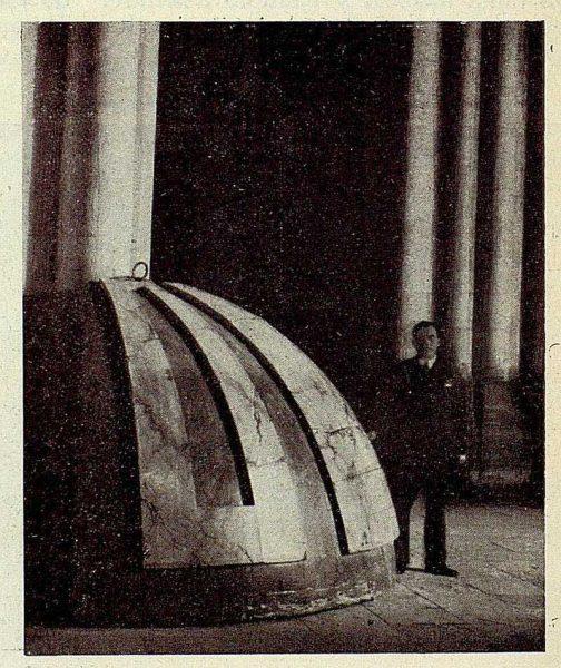 149_TRA-1928-254-Catedral, Monumento, fragmento de la cúpula-Foto Rodríguez