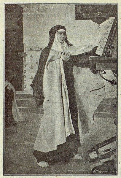 151_TRA-1917-066 - Cuadro de Sor María de Jesús de Vicente Cutanda - Foto Ciarán