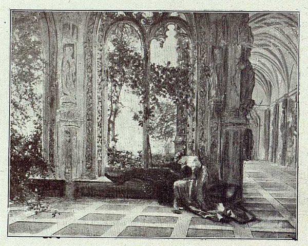 154_TRA-1918-095 - Cuadro de Matías Moreno, Despedida de Romeo y Julieta