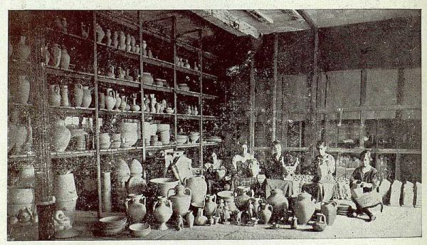 155_TRA-1920-149-Cerámica de Talavera Ruiz de Luna, preparando para vidriar