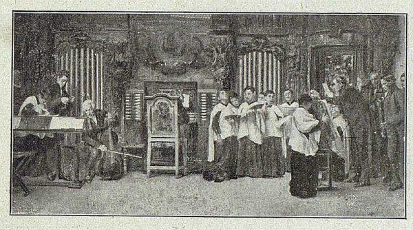 156_TRA-1918-095 - Cuadro de Matías Moreno, Ensayo al órgano