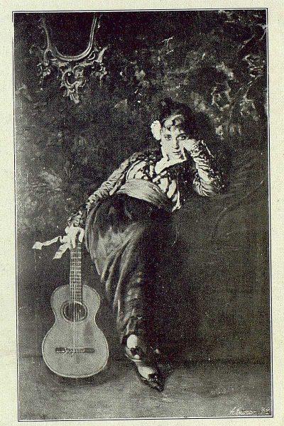 157_TRA-1918-095 - Cuadro de Matías Moreno, La Petenera