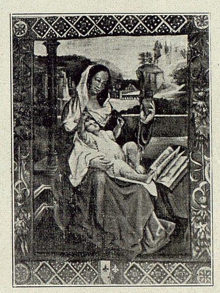 161_TRA-1918-100 - Rafael Ramírez de Arellano, La Virgen con el Niño