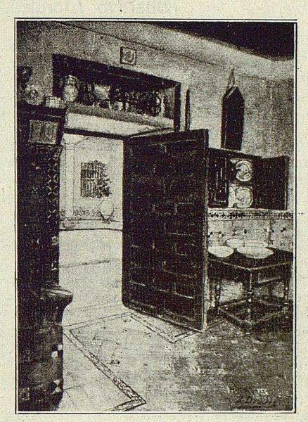 164_TRA-1918-102 - Acuarela de José Drudis Briada, Cocina de la Casa de El Greco