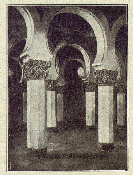 165_TRA-1918-102 - Acuarela de José Drudis Briada, Santa María la Blanca
