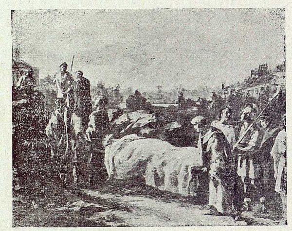166_TRA-1919-135 - Cuadro Entierro de Santa Leocadia de Luciano Sanchez Santarés