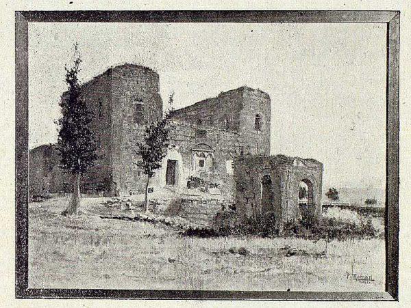 169_TRA-1921-168 - Cuadro El Castillo de Galiana de Pedro Román