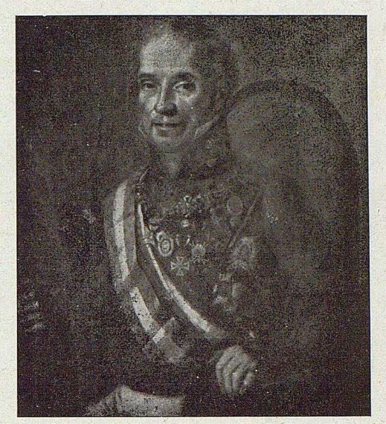 171_TRA-1921-174 - Cuadro del Museo de Infantería de Francisco Javier Benegas, Marqués de la Reunión de Nueva España