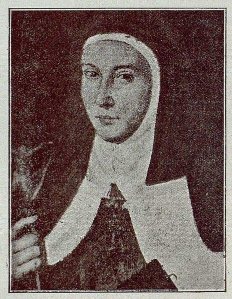 177_TRA-1921-175 - Cuadro de la Madre María de San José