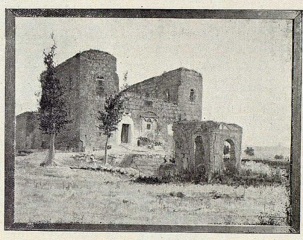 180_TRA-1921-175 - Cuadro El Castillo de Galiana de Pedro Román