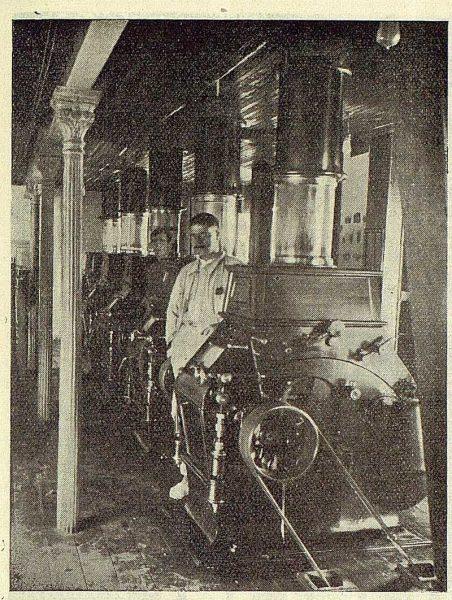 184_TRA-1923-197-Casajuana y Compañía, sala de cilindros de la Flor del Tajo
