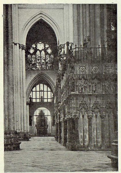 185_TRA-1923-200-Catedral, vista del Trascoro-Foto Clavería