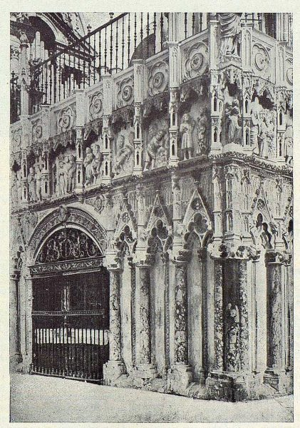 186_TRA-1924-207-Catedral, trascoro-Foto Clavería