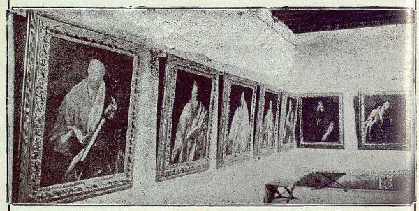 188_TRA-1922-186 - Museo del Greco, una de las salas - Foto Camarasa