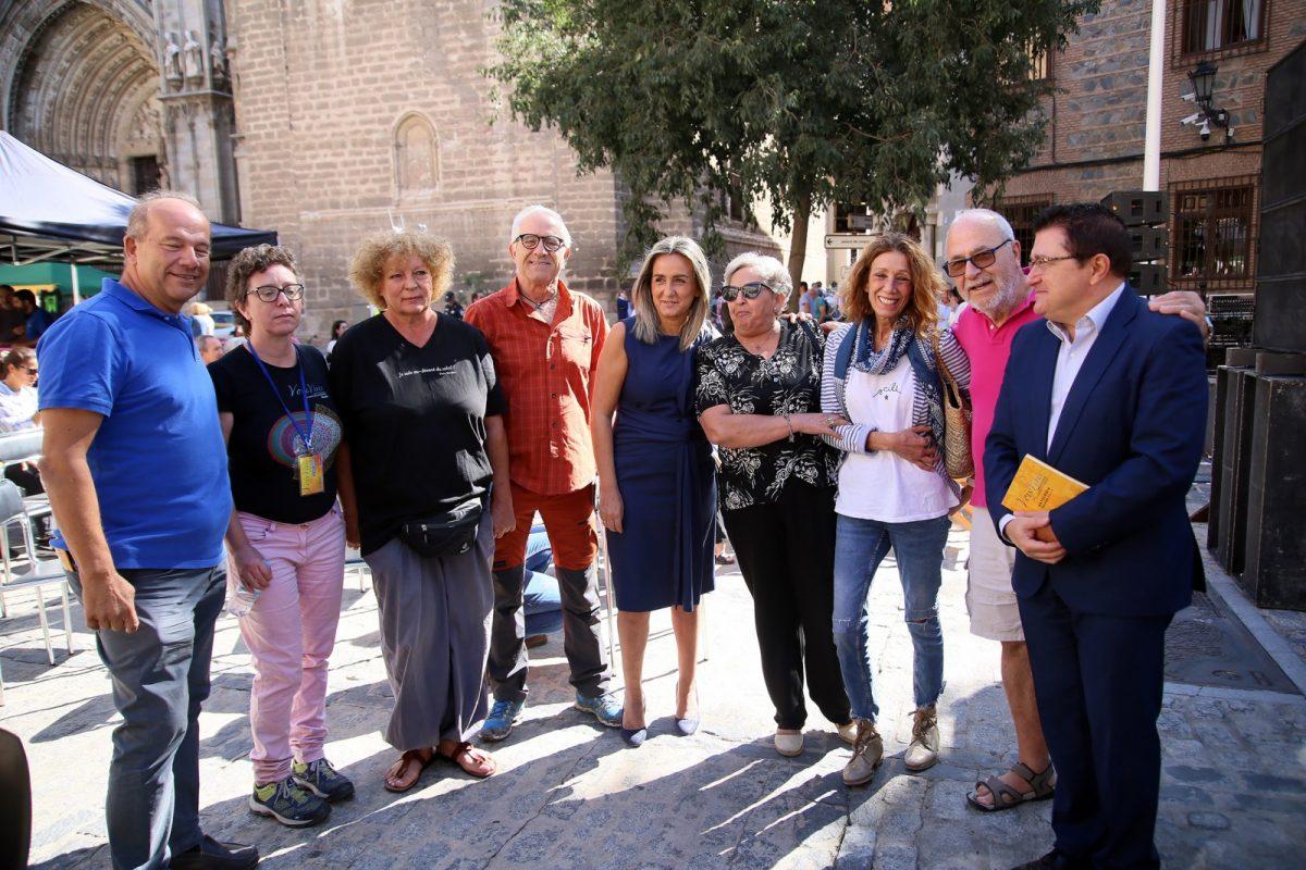 http://www.toledo.es/wp-content/uploads/2019/09/18_voix_vives-1200x800.jpg. Milagros Tolón reitera el compromiso del Ayuntamiento con el Festival Internacional de Poesía 'Voix Vives' en su séptima edición