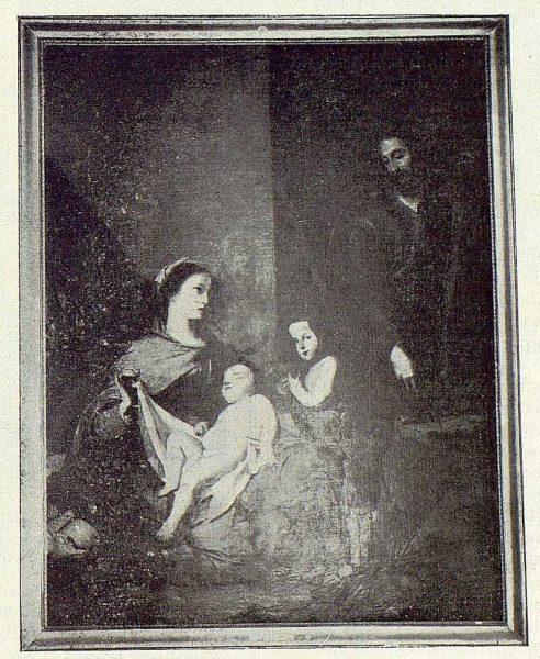190_TRA-1922-189 - Cuadro La Sagrada Familia de Navarro Ledesma - Foto Rodríguez