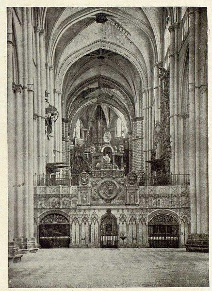 191_TRA-1929-270-Catedral, Trascoro-Foto Clavería
