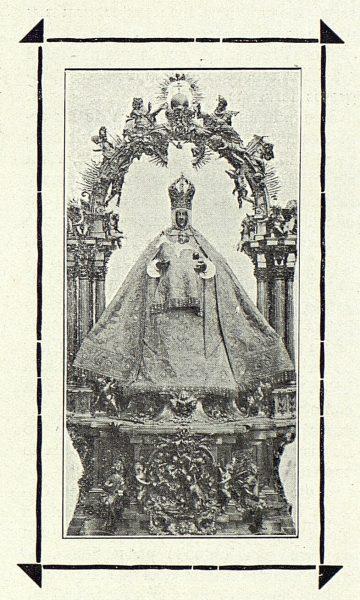 192_TRA-1915-003-Catedral, Virgen del Sagrario