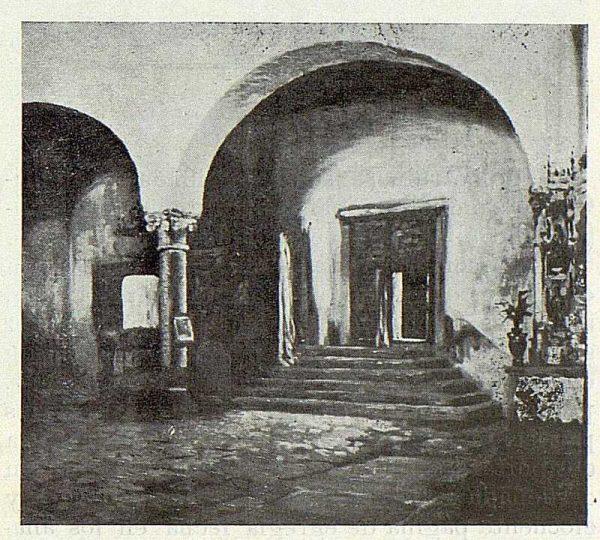 192_TRA-1923-195 - Rafael Estefaní, lienzo del interior de Santa Isabel - Foto Rodríguez