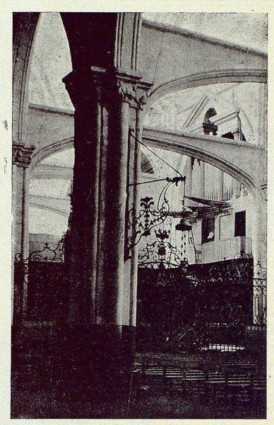 198_TRA-1923-197-Colegiata, detalle del interior