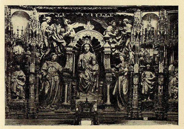 203_TRA-1928-258-Catedral, retablo mayor, Virgen-Foto Rodríguez