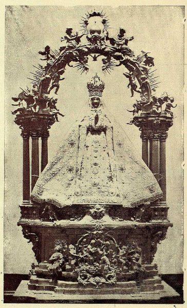 205_TRA-1928-258-Catedral, Virgen del Sagrario-Foto Rodríguez
