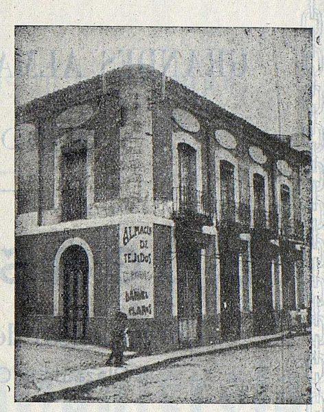 211_TRA-1923-197-El Paraíso, almacén de tejidos, fachada de los almacenes