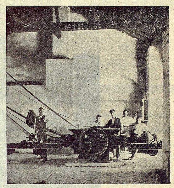 218_TRA-1923-197-Félix del Moro, fábrica de materiales de construcción, sala de máquinas