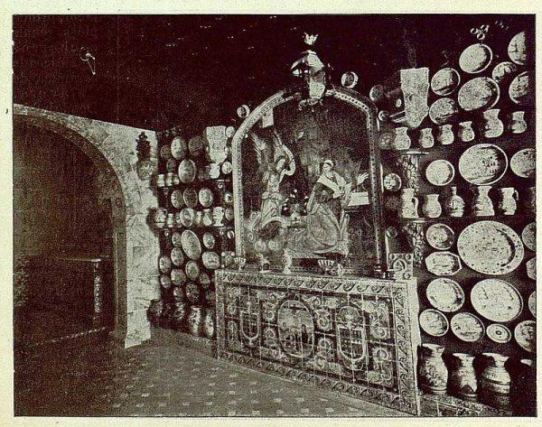 261_TRA-1925-216-Talavera, Museo Ruiz de Luna, al fondo la capilla