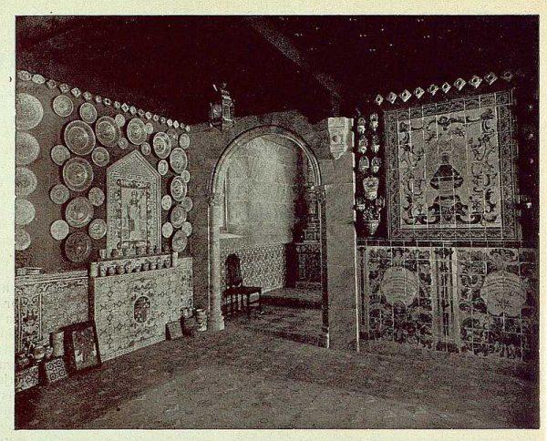 264_TRA-1925-216-Talavera, Museo Ruiz de Luna, entrada a la capilla
