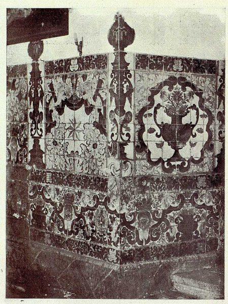 276_TRA-1927-247-Ermita de la Virgen del Prado, sacristía, zócalo-Foto Ruiz de Luna