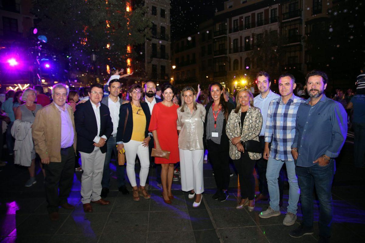 http://www.toledo.es/wp-content/uploads/2019/09/27_luz_toledo-1200x800.jpg. La alcaldesa celebra que Luz Toledo llene la fachada del Alcázar de toledanismo con un espectáculo que aglutina leyendas populares