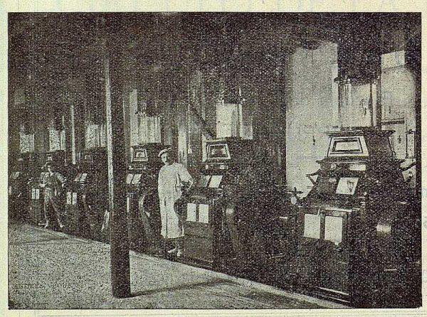 309_TRA-1922-187-Electra, fábrica de Torrijos, sala de cilindros