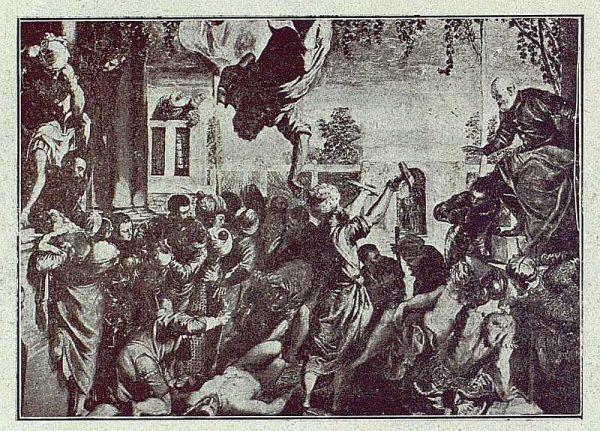 341_TRA-1918-101-Cuadro de Tintoretto, el Milagro de San Marcos, Venecia