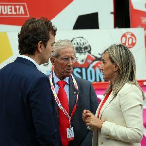 ilagros Tolón destaca la promoción internacional de la ciudad gracias a la Vuelta Ciclista a España en un total de 190 países
