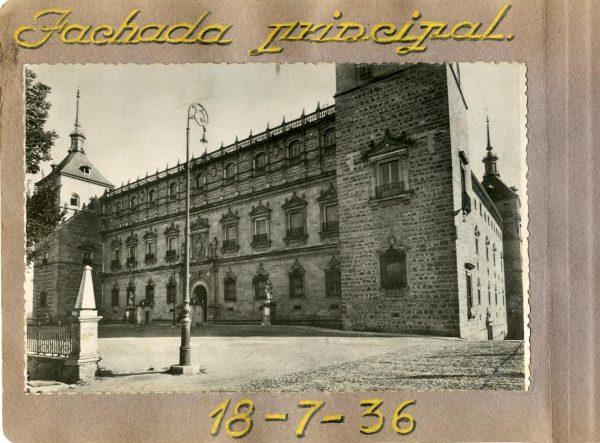 Año 1936-07-18 - Fachada Principal