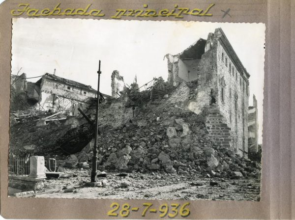 Año 1936-07-28 - Fachada Principal